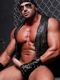from Grady free leather gay pix